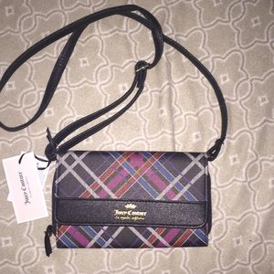 Juicy Couture punk Rock Plaid mini Crossbody NWT